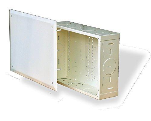 Benner-Nawman 14104-MM Structured Wiring Cabinets 14-14-Inch X 10-Inch X 4-Inch White by Benner-Nawman Inc