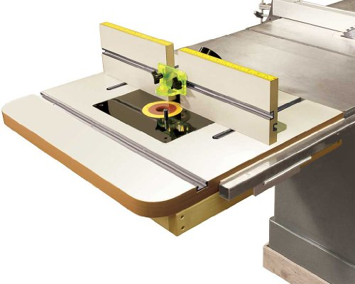 MLCS 2394 Extension Router Table Top Fence with Universal Router Plate