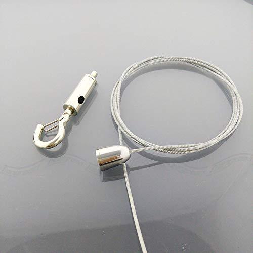 Ochoos Hot Sale Industrial Tools Steel Wire Rope with Hook Lighting Hanging Ceiling Mount Hanger Universal Lock for Laser Stage Light
