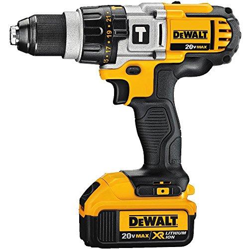 DEWALT DCD985L2 20-Volt MAX Li-Ion Premium 30 Ah HammerdrillDriver Kit
