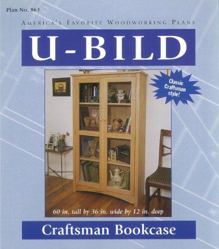 U-Bild 863 Craftsman Bookcase Project Plan