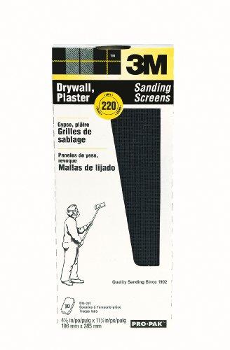 3M 99436 Drywall Sanding Screens Pro-Pak 220-Grit 10-Pack