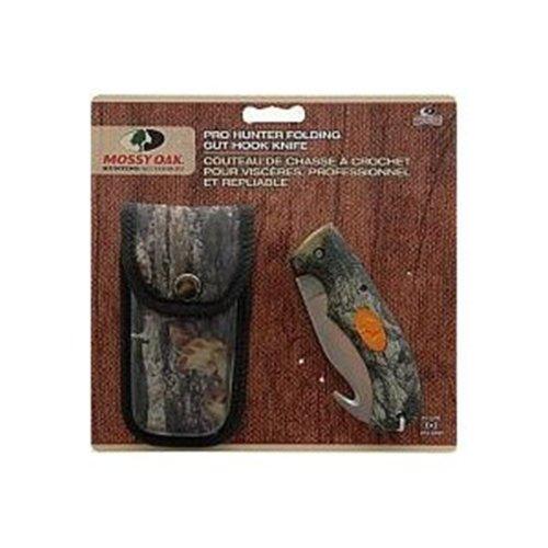 Mossy Oak Hunting Accessories Pro Hunter 3 MO-PHFGHK Folding Knife Guthook