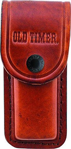 Old Timer LS2 Large Brown Leather Belt Sheath