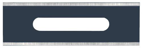 Personna 61-0023 Heavy Duty Blue 100 Slotted Square Corner Double Edge Carpet Blades