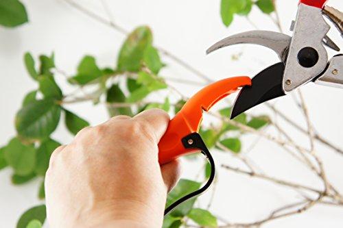 Q-yard  Handheld Multi-Sharpener for Pruning Shears Garden Hand Pruners Gardening Scissors