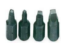 SK Hand Tool 81871 Number-1 Robertson Screwdriver Shank Bit 14-Inch