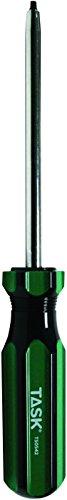 Task Tools T50542 Number-1 Robertson Acetate Hard Grip Screwdriver 4-Inch Length