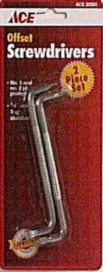 Ace 2-piece Offset Screwdriver Set- 025osdrc