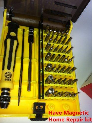 New Beyution with Magnetic 45 in 1 Precision Torx Screwdriver Repair Tool Set Tweezer for IphoneSamsungNokiaToshiabaATT all Mobile phoneTabletPCComputerlaptop all device