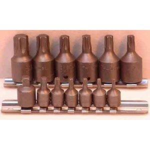 Torx Tools - 15 Pc Torx Sockets Set