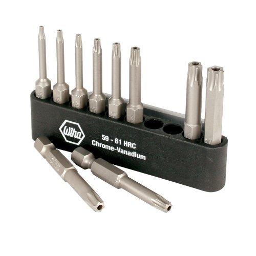 Wiha 74987 Power Bit Belt Pack with Security Torx Bits T7-T40 10-Piece by Wiha