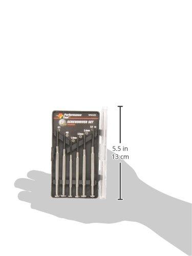 Performance Tool W944S 6-Piece Precision Screwdriver Set