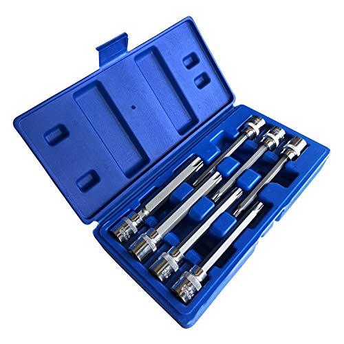 Extra Long Torx Star Bit Socket Set 7 Piece T25-T60 CR-V38 Drive 110mmTorx