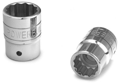 Powerbuilt 643209 34-Inch Drive 1-716-Inch Socket by Powerbuilt