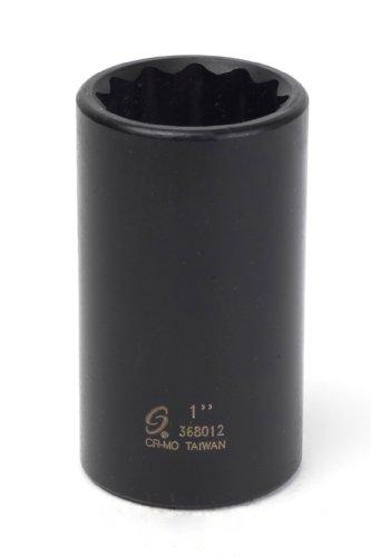 Sunex 368012 38-Inch Drive 1-Inch 12-Point Deep Impact Socket