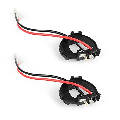 CHUN-Accessory - 2Pcs H7 Car LED Headlight Bulb Base Holder For VW Golf Jetta MK7 Headlamp Adapter Socket Retainer For Mercedes-Benz Vito