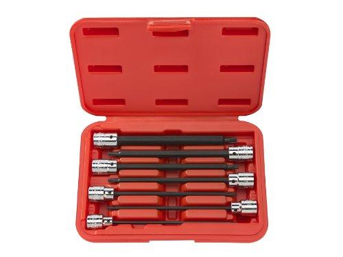 TEKTON 1352 38-Inch Drive Extra Long Star Bit Socket Set T10 - T40 7-Piece