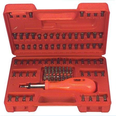 Duratool BT-K105 105 Piece Security and Standard Screwdriver Bit Set