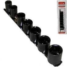 9 Pc Shallow Impact Sockets Set 12 Drive Metric