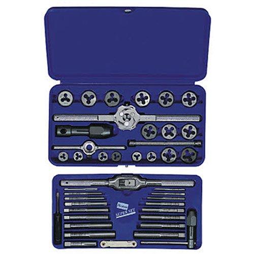 IRWIN Tools Metric Tap and Hex Die Set 41-Piece 26317