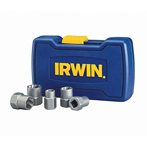 IRWIN HANSON BOLT-GRIP Bolt Extractor Base Set 5 Piece 394001