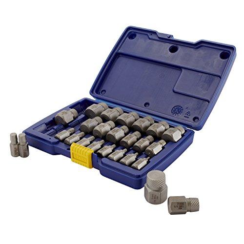 Irwin Tools Hanson 53227 Hex Head Multi-Spline Screw Extractor Set 25 Piece