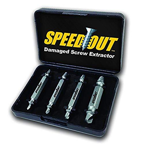 Ontel SpeedOut Damaged Screw Extractor Bolt Extractor Set