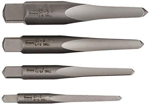 Irwin Tools 53625 Straight Flute Screw Extractors 4 Piece Set by IRWIN