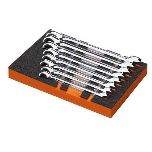 Bahco Ratchet Ring Spanner Set 8 Piece Module T6 174 X 261 Mm