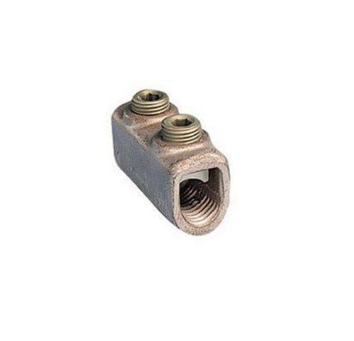 Panduit HC30-1 Two Set Screw Splice Internal Pressure Plate 40 STR - 300 kcmil Copper Conductor Size Range 58 Hex Key Size 119 Width 144 Height 256 Length