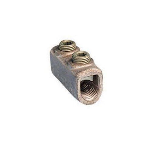 Panduit HC8-3 Two Set Screw Splice Internal Pressure Plate 4 SOL - 1 STR Copper Conductor Size Range 716 Hex Key Size 069 Width 081 Height 175 Length