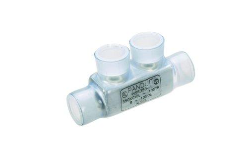 Panduit PNLC-10-3 Two Set Screw Splice 8 SOL - 10 STR Copper Conductor Size Range 14 Hex Key Size 072 Width 084 Height 163 Length
