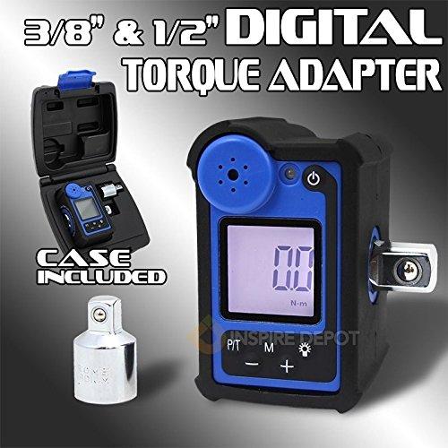 Generic YC-AUS2-150922-24 8&15711 47ft-lbtchet Measu Ratchet Measuring Digital Torque Tools Case Adapter Wrench 12 38 147ft-lb Digital Tor