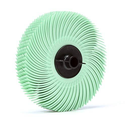 80Pk 3M 30132 Scotch-Brite Radial Bristle Disc 3 Inch X 38 Inch 1 Micron  7100007341