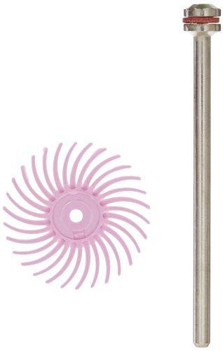 Scotch-BriteTM Radial Bristle Disc 35000 rpm 34 Diameter Pumice Grit Pink Pack of 48 by Scotch-Brite