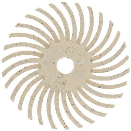 Scotch-BriteTM Radial Bristle Disc Thin Bristle 35000 rpm 1 Diameter 120 Grit White Pack of 24 Model RB-ZB Tools Hardware store