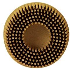 2 Scotch-Brite Roloc Bristle Discs 80 Grit Medium Yellow Tools Equipment Hand Tools