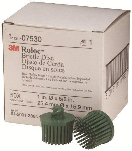 3M 07530 Roloc Bristle Disc Green