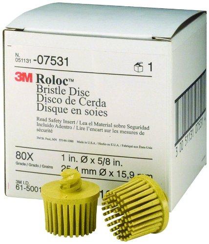 3M 07531 Roloc Bristle Disc Yellow
