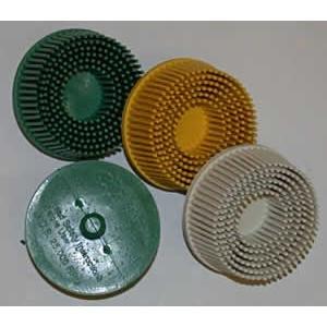3M Roloc Bristle Disc Green 2 Diameter Grade 50 Grit Industrial Parts House