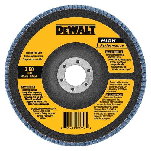 DEWALT DW8354 4-12-Inch by 78-Inch 120g Type 27 High Performance Flap Disc