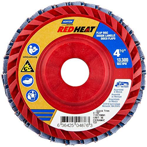 Norton - Blaze Type 27 Flap Discs Flap Discs 4 12X78 R980 Type 27 36 547-66261100001 - flap discs 4 12x78 r980 type 27 36