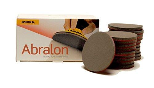 MIRKA Abralon 3 Inch 3000 Grit Sanding Discs 20 per box