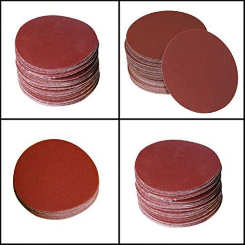 Moshine 7inch Sanding Discs Velcro Hook Loop Backed Aluminum Oxide Sandpaper 10pcs 320 GRIT Sanding Discs Color 10pcs 320 GRIT Sanding Discs Model  Tools Hardware store