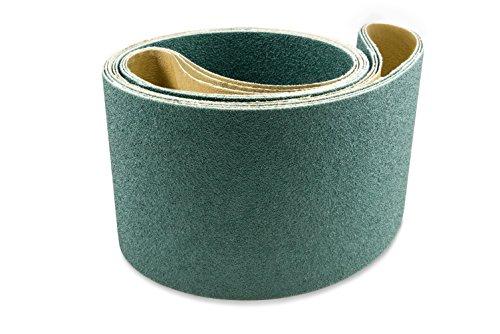 Red Label Abrasives 6 X 89 Inch 120 Grit Metal Grinding Zirconia Sanding Belts 2 Pack