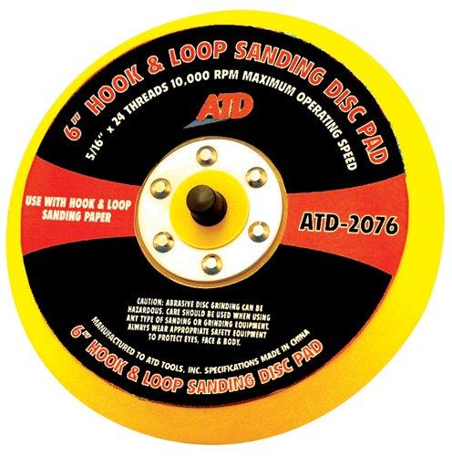 ATD Tools 2076 6 Quick Change Sanding Disc Pad