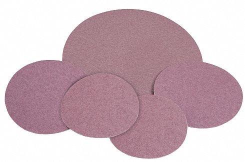 6 Coated PSA Sanding Disc 80 Grit Non-Vacuum Coarse Grade Aluminum Oxide 50 PK Pack of 10