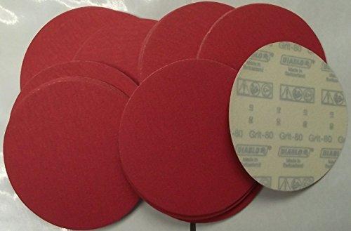 Diablo 2610017886 50 Pack U-Sand Hook Lock 6 80 Grit Sanding Discs