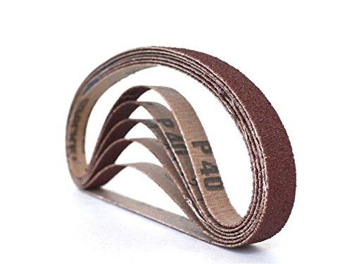 12 Inch X 24 Inch Aluminum Oxide Cloth Sanding Air File Belts48 Pack 80 Grit
